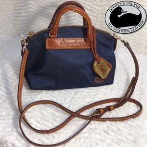 NWT Dooney & Bourke Mini Juliette Satchel Navy